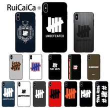 Ruicaica invicto cinco barras tpu capa de telefone macio para apple iphone 8 7 6 s plus x xs max 5 5S se xr 11 11pro max capa(China)