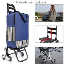 Cart Stairs Foldable Woman Trailer Household Waterproo