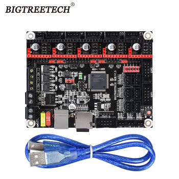 цена на BIGTREETECH SKR V1.3 ARM 32 Bit 3D Printer Controller Board Smoothieboard Open Source Mainboard like MKS GEN L