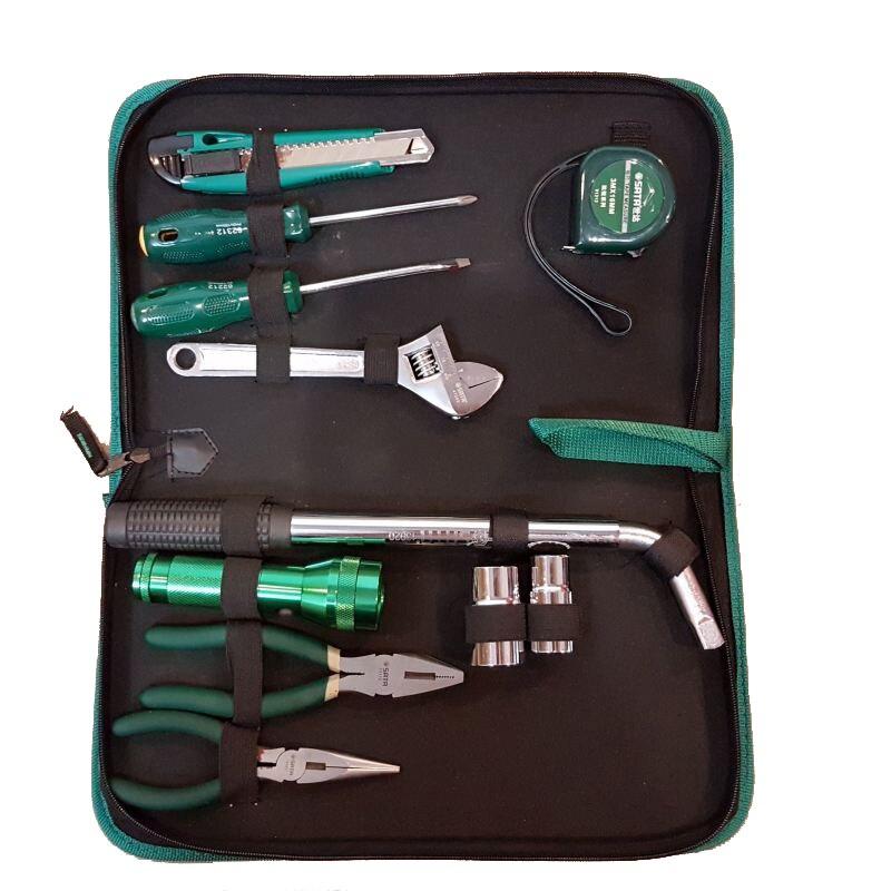 SATA 06011 For Tool (set) 11пр. Combo vehicle./household, case. sata 04110 for tool set 19пр combo vehicle gen case