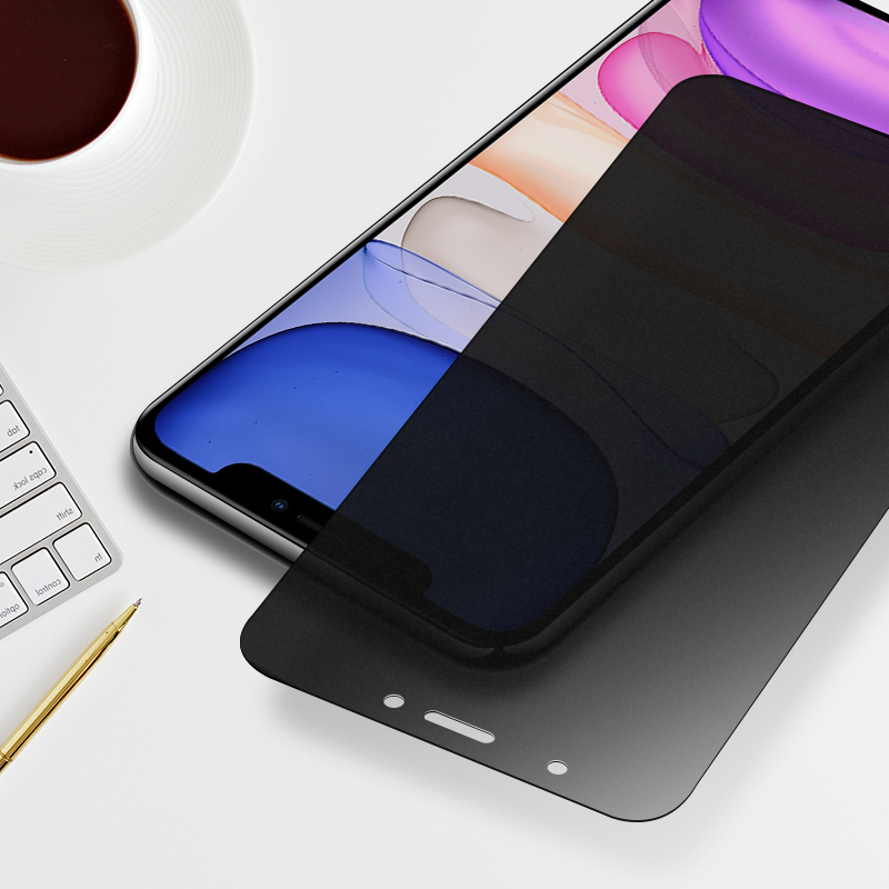 2pcs Frosted Matte Screen Protector Tempered Glass For iPhone Models 9