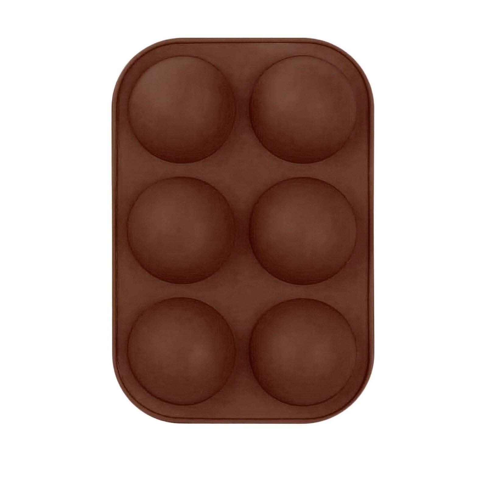 Средняя полусферическая силиконовая форма, форма для выпечки для изготовления шоколада, торта, желе, купола M ^ пресс-форма для кастрюль инструменты для украшения кухни