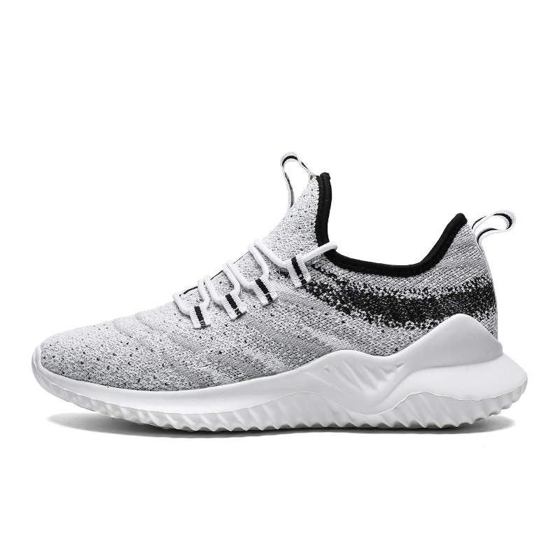 Men 39 s vulcanize shoes male casual shoes fashion sneakers breathable air mesh running shoes lace up flats shoes plus size 7 12 in Men 39 s Vulcanize Shoes from Shoes
