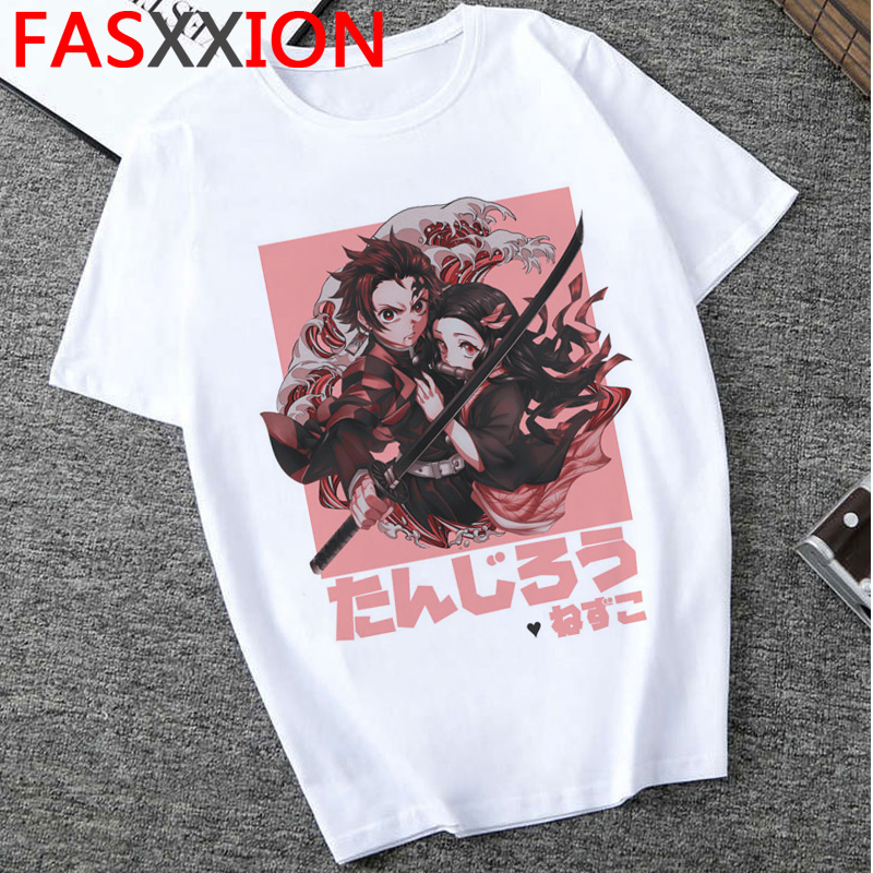 H02cac2104b7548c68d91d2045de94fe5l - Demon Slayer T-shirt  Graphic Tees Men Streetwear  Japanese Anime Cool Tshirt Funny Cartoon Kimetsu No Yaiba T Shirt Male