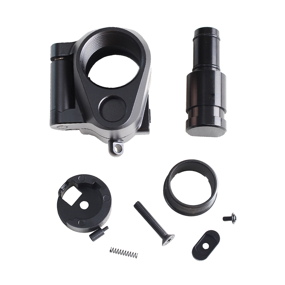 Tactical AR Folding Stock Adapter Airsoft Hunting Accessory For M16/M4 SR25 Series GBB(AEG) For Airsoft image