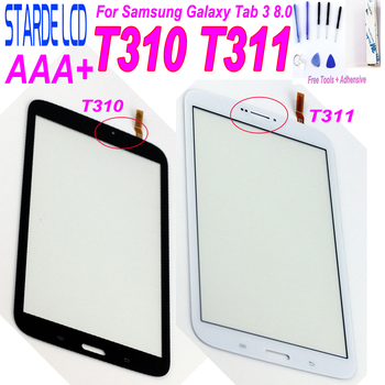 Starde 8.0 Touchscreen For Samsung Galaxy Tab 3 8.0 T310 T311 SM-T310 SM-T311 Touch Screen Digitizer Sensor Tablet PC Parts free shipping for samsung galaxy tab 3 8 0 sm t310 t310 wifi touch screen digitizer glass lcd display assembly replacement