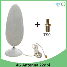 3G 4G LTEเสาอากาศ22dbi SMAชายTS9 Connector 2.8MสายเคเบิลเสาอากาศWifiสำหรับHuawei 3Gโมเด็ม4G LTE Router Antena Antenne