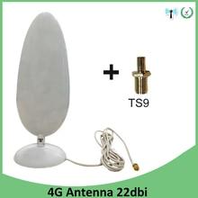 الجيل الثالث 4G LTE هوائي 22dbi SMA ذكر TS9 موصل 2.8 متر كابل واي فاي هوائي لهواوي الجيل الثالث 3G 4G LTE مودم راوتر انتينا