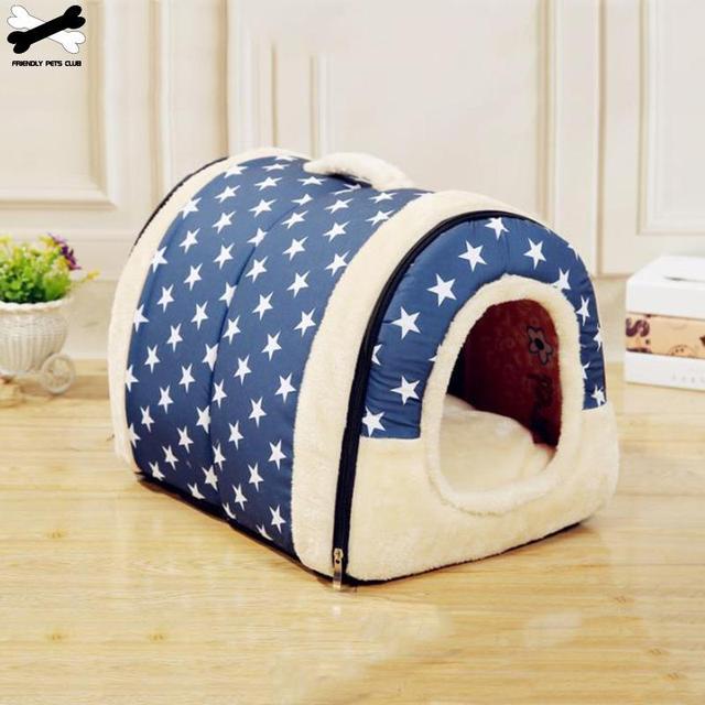 Handheld Foldable Dog House 1