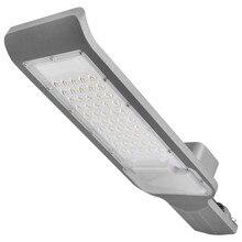 Impermeable IP65 30 W/50 W Led lámpara de calle cabeza aluminio lámpara de camino en exteriores Led Luz de inundación de calle Jardín lámpara de punto AC85-265V