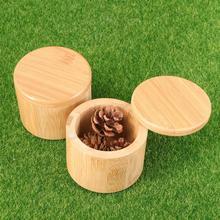 2 шт бамбуковая коробка для хранения приправа коробка естественная Защита окружающей среды высокая температура для дома(хаки