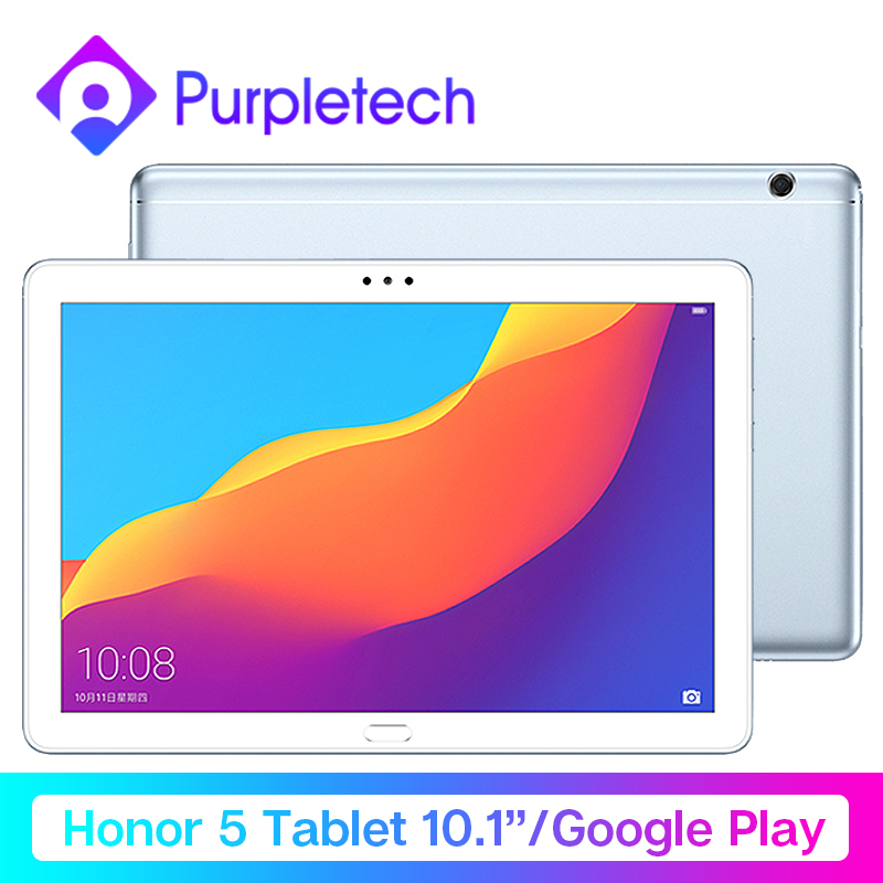 Original Huawei Honor Tablet 5 Google Play MediaPad T5 10.1'' 1080P HD Kirin 659 Octa Core Android 8.0Fingerprint Unlock 5100mAh