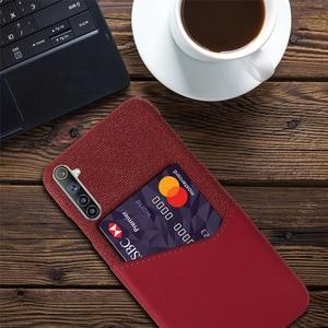 Image 4 - Card Slots Cover For OPPO Realme 6 X7 7 X50 5 Q2 Pro 5i Narzo 20A C17 C12 Business Case For Oppo F17 Reno4 Pro A12e A15 A72 A53