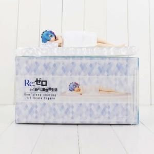 Image 5 - יפני אנימה חיים בעולם אחר מאפס Rem שינה סקסי ילדה PVC פעולה איור צעצועי 22cm אוסף דגם בובה חדש