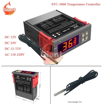 STC-1000 Digital Thermostat Temperature Controller Thermoregulator Relay Heating Cooling Control 12V 110V 220V for Incubator image