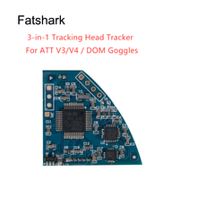 Fatshark – Module de suivi de tête 3 en 1 FPV, carte de suivi pour FSV2413 RC Drone de course, pièces de rechange à monter soi-même