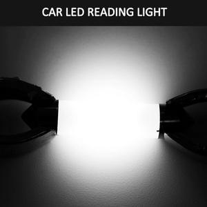 Image 5 - 1PC C5W COB Auto LED Birne 41/39/36/31mm Automotive Innen Lesen Licht Weiß lizenz Platte Licht 12v Auto Licht Montage
