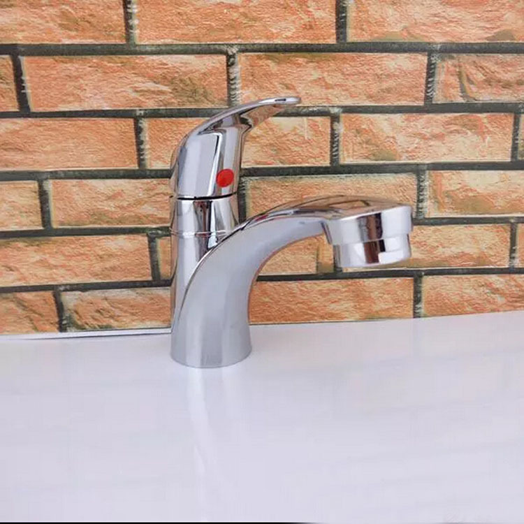 Plumbing Manufacturers Zinc Alloy Ingle Handle Faucet with Cold Basin Single Handle Single Hole Lavatory Bibcock Wholesale|  - title=