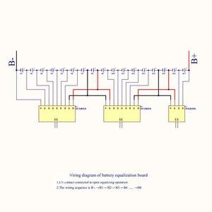 Image 4 - 3S 4S 5S 6S 7S BMS Active Equalizer Current Balancer Li Ion Lifepo4 LTOแบตเตอรี่ลิเธียมenergy Transfer Balanceป้องกัน