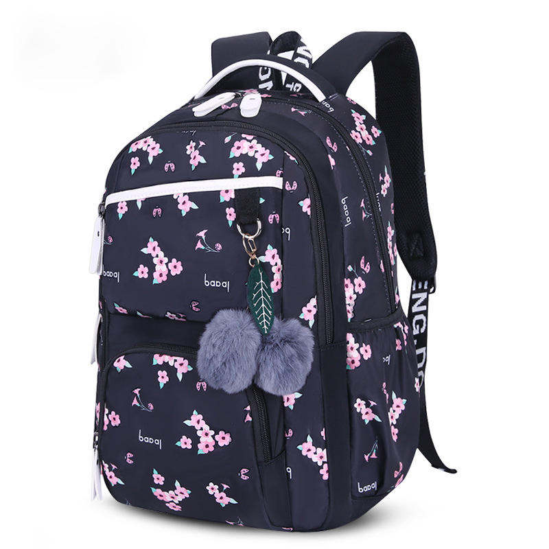 WENYUJH New Large Size Schoolbag Cute Student School Backpack Printed Waterproof  Primary School Book Bags For Teenagers Kids