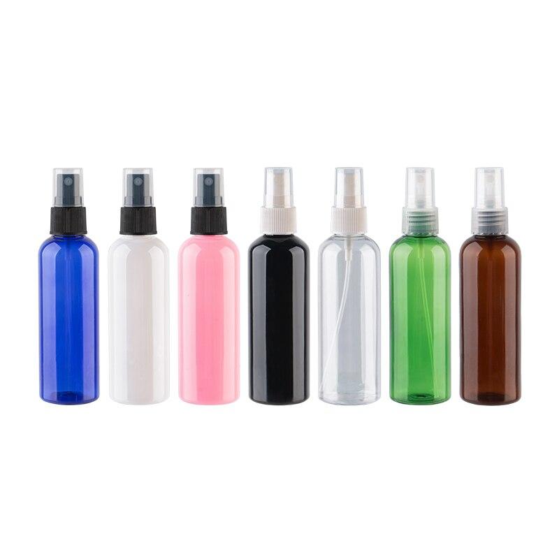 Güzellik ve Sağlık'ten Doldurulabilir Şişeler'de 100ml X 50 Sprey Boş Şişeler Parfümler, 100cc PET Şeffaf Konteyner Püskürtücü Pompası Ince Sis Sprey Şişesi Kozmetik Ambalaj'da  Grup 1