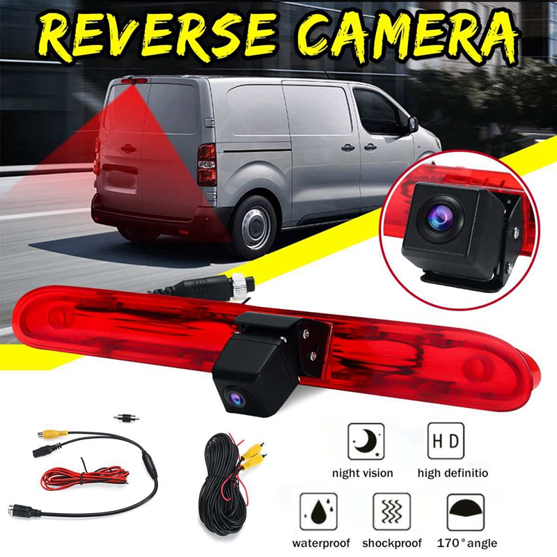 Car Rear View Camera Reverse Brake Light Camera for Peugeot Expert Van for Citroen Dispatch for Toyota Proace Van 2016 image