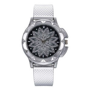 The Latest Top Fashion Ladies Steel Belt Watch Wild Lady Creative Fashion Gift watches for women reloj mujer montre femme