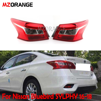 MZORANGE Tail light For Nissan for Bluebird SYLPHY 16-18 Rear Bumper Lamp Brake Light car associate