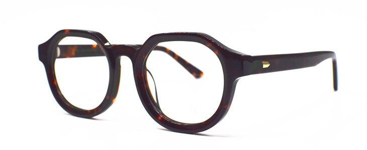 Винтажные очки для чтения ручной работы полная оправа мужчин