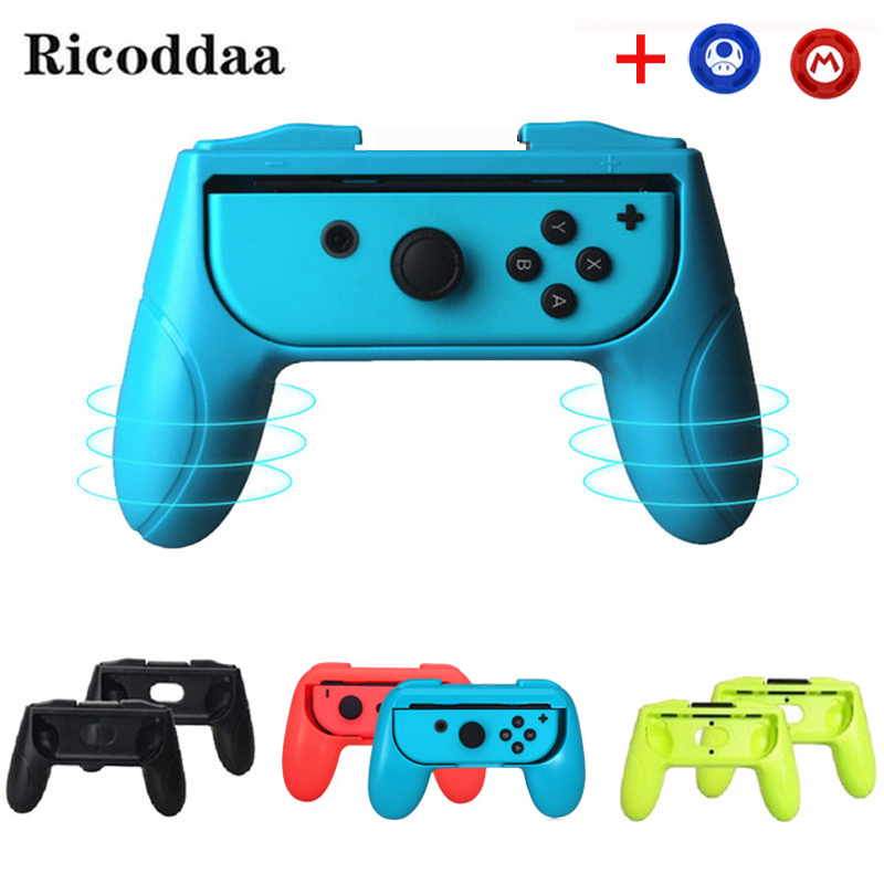 2PCS For Nntend Switch ABS Joystick Grip Handle Joypad Stand Holder For Nintend Switch NS Left Right Joy-Con Joycon Controller