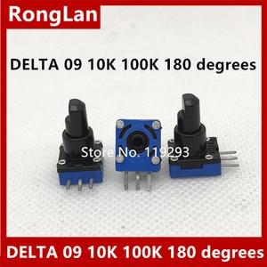 Image 1 - [BELLA]Regent DELTA 09  type game potentiometer 10K 100K 180 degrees  20PCS/LOT