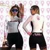 2020 pro equipe triathlon terno feminino camisa de ciclismo skinsuit macacão maillot ciclismo roupas ropa ciclismo conjunto rosa almofada gel 24