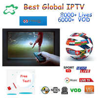 Best  Global IPTV Subscription 8000+ Spain French Poland  German French Poland Romania  Enigma2  Android M3u8 SSmart TV VLC