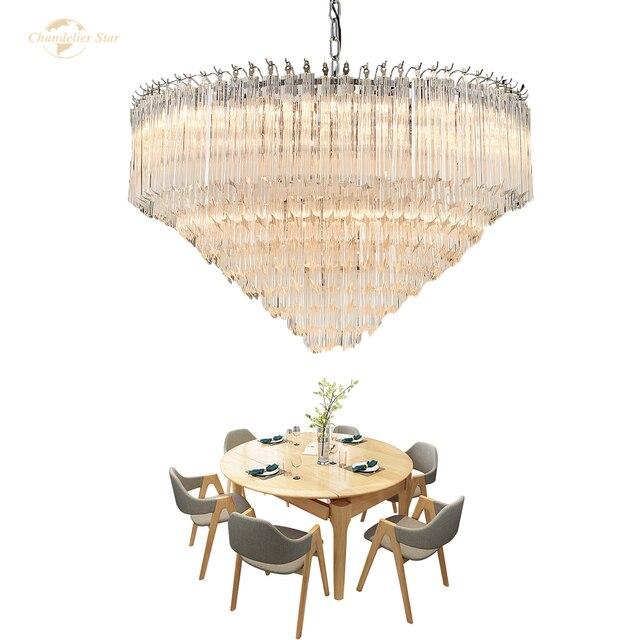 Арт деко Скандинавское стекло светодиодный светильник для дома