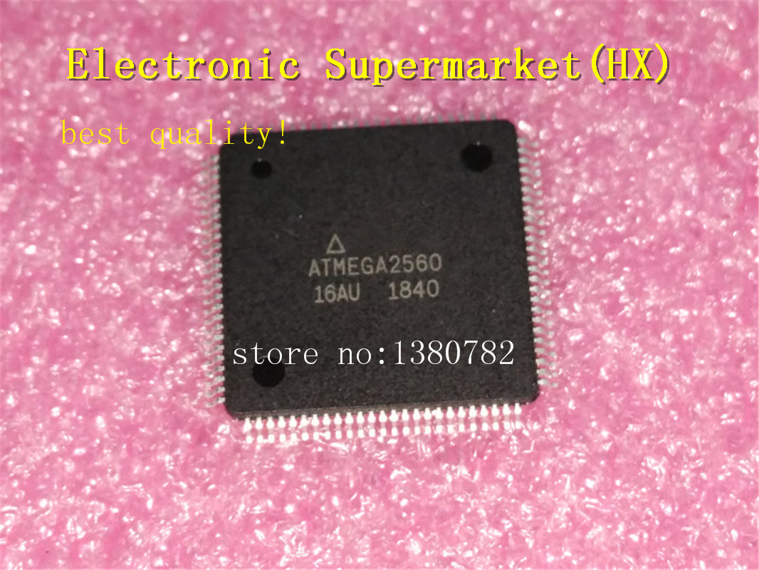 Free Shipping 10pcs/lots ATMEGA2560 16AU ATMEGA2560 TQFP 64 New original In stock!-in Integrated Circuits from Electronic Components & Supplies