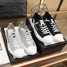 Italian design Gujia casual fashion generous men's shoes official latest