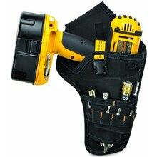 Инструмент сумка для инструментов пояс электромонтерские сумки для инструментов 600D Ткань Оксфорд сумка Пояс Органайзер прочный аппаратные средства набор инструментов