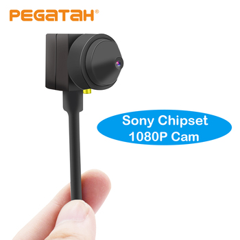 цена на 1080P HD Mini AHD Camera 2MP with Sony 322 lens 0.1 lux Low Illumination Audio output Security CCTV Camera 3.7mm lens