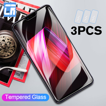3Pcs 9H Tempered Glass for OPPO R17 R15 F11 F9 F7 F5 Screen Protector Reno Z 10X Zoom A7X A9X A3S K3 Protective