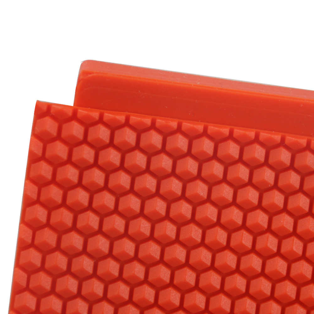 HNDTM Beeswax Foundation Press Mold Beekeeping Silicone Flexible Bee hive Wax for Machine Foundation Sheets Press Tool for Beekeeper