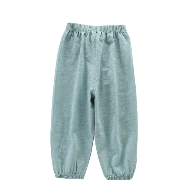 Per bambini Anti-Zanzara Pantaloni Primavera Estate Infantile Aria Condizionata Pantaloni Pantaloni Dei Ragazzi e Delle Ragazze Lanterna Pantaloni Del Bambino Casual 2