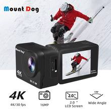 MountDog 4K Action Camera HD With Wifi Sport Waterproof Cameras Video Recording 30 FPS Underwater Cam(China)
