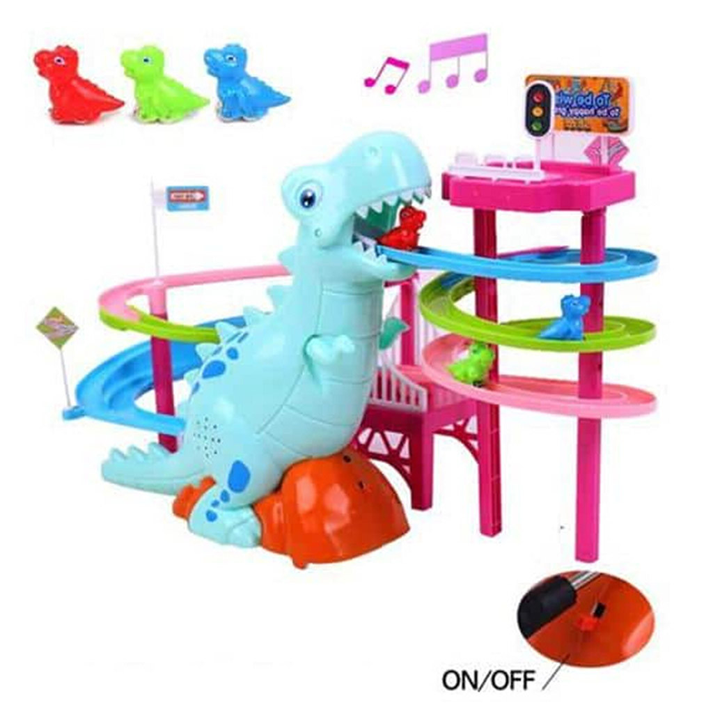 Musical Dinosaur LED Race Toy Adventure Puzzle Toy Birthday Gift Christmas Gifts Children's Educational Toys Jouets éducatifs#3