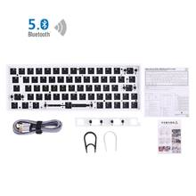 GK64XS Hot Swap Programmable Bluetooth Mechanical Keyboard Pcb Custom Kits GH60 E5BA(China)