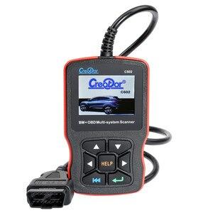 Image 3 - NEW2020 Creator C502 OBD2 Diagnose Werkzeug Voll Systeme Auto Diagnose Scanner Professional Für Mercedes Benz OBD2 Scanner Werkzeuge