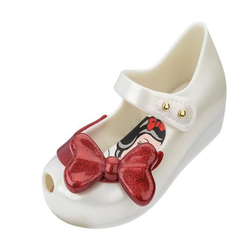 Rose kids Girls Mini Melissa Shoes Sandals Summer Cute Toddler US Size 6-11