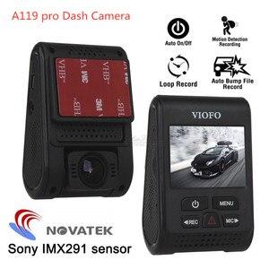 Image 1 - Originale VIOFO A119 Pro V2 Car Dash Cam DVR GPS Condensatore Novatek 96660 Registratore H.264 2K HD 1440p dellautomobile del Precipitare Della Macchina Fotografica Dvr