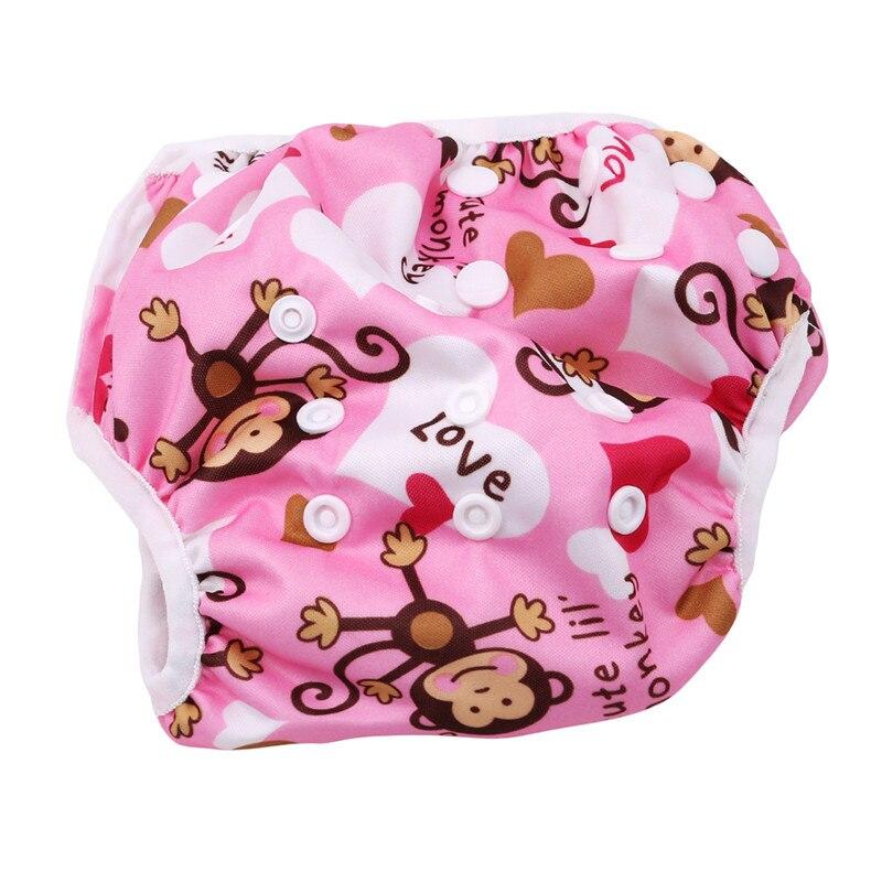Детские подгузники для купания; многоразовая одежда для купания для новорожденных; милый детский купальный костюм; брендовый купальный