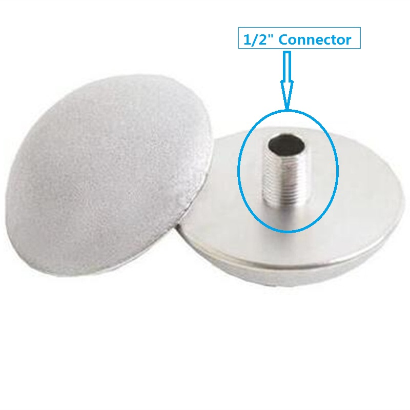 Купить с кэшбэком High concentration ozone gas resistant titanium alloy ozone aerator 150MM ozone aerator for waste water treatment
