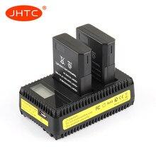 EN-EL14 batarya EN EL14 şarj için Nikon D3200 D3400 D3300 D3100 D5100 D5200 D5300 D5600 kamera pil ENEL14 1030mah